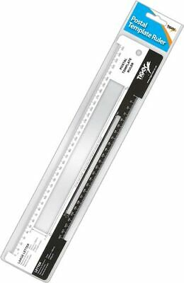 Royal Mail Postal Template Ruler Postage Letter Size PPI Guide Office Workplace