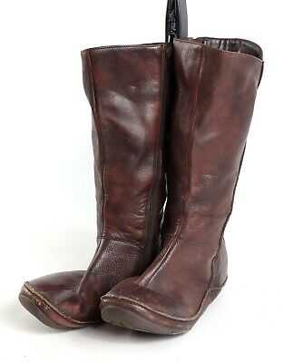 db2bcb9ef6a HUSH PUPPIES WOMENS UK Size 5 Brown Leather Knee-High Boots -  52.12 ...