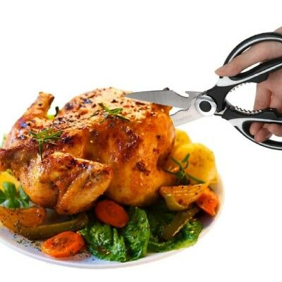 Multifunction Kitchen Shears Meat Herbs Vegetables Fish Foods Chicken Poultry