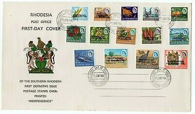 Rhodesia   1966  First Day Cover  Very Fine