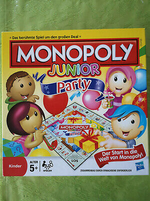 Monopoly Junior Party Spielbrett Spiele