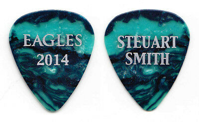 Eagles Steuart Smith Blue Pearl Guitar Pick #2 - 2014 History Tour