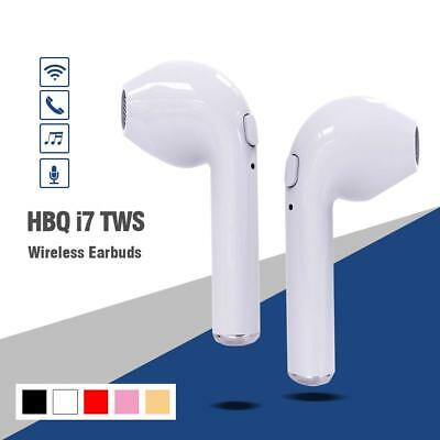 I7s TWS In-Ear True Wireless Earbuds Bluetooth4.2 Stereo with Charging Cable HQ