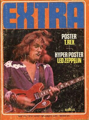 EXTRA n°18 (mai 1972), Alvin Lee (Ten Years After), Variations, John Mayall