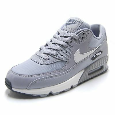 info for 8f2a7 64cf3 Nike Femmes Air Max 90 Baskets Wolf Gris Sommet Blanc 325213 062
