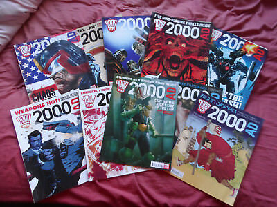 2000Ad 10 Progs 1743 - 1752 (2011) Judge Dredd Savage. Zombo. Sin Dex.vgc