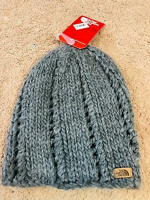 d1fc29dacc7 THE NORTH FACE CHUNKY KNIT BEANIE TNF GREY NF0A2T6HDYY Authentic ...