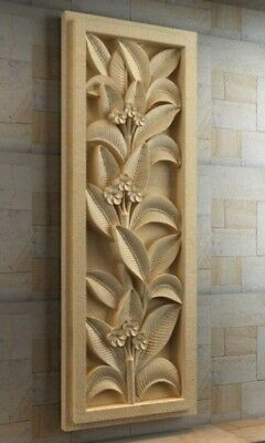 wall decoraion CNC Router relief model STL format 3D model artcam