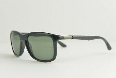 c8bacf131ad24 RAY BAN RB 4197 601 9A Black Polarized Authentic Sunglasses 56-20 3P ...