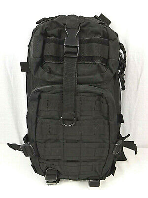 Defcon 5 One Day Tactical Military Issued Black Backpack 35L