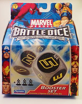 "/""NEW/"" Marvel Heroes BATTLE DICE Booster Sets ~ sets *Great Party Favors* 6"