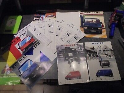 Lot Catalogues Anciens Fourgon Camion Renault Trafic & Master 1993