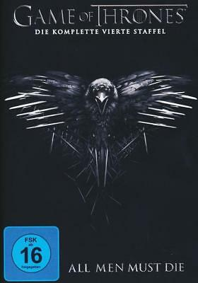 Game of Thrones - Staffel 4, 5 DVDs, NEU