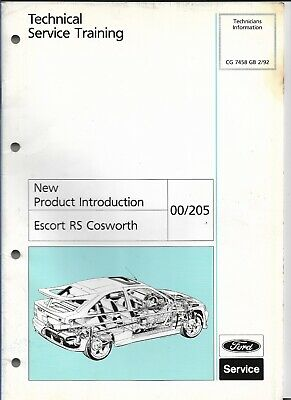 Swell Ford Escort And Sierra Cosworth Workshop Manual 5 50 Picclick Uk Wiring Digital Resources Bioskbiperorg