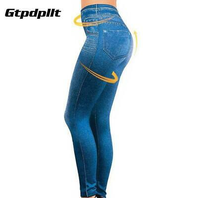 Leggins With Pockets Stamping Imitation Tejano