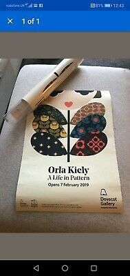 Orla Kiely A life In Pattern Poster.