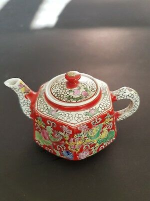 Antique Chinese Yixing Tea Pot Signed