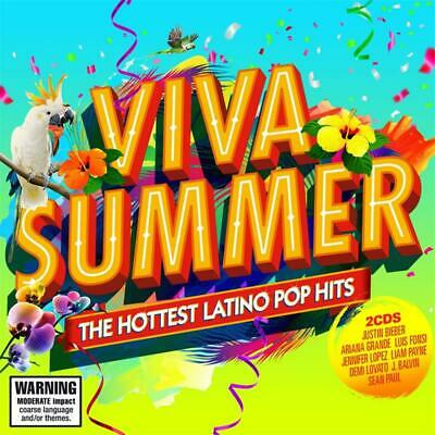 Viva Summer - The Hottest Latino Pop Hits (CD, 2018, 2 Discs) Brand New & Sealed