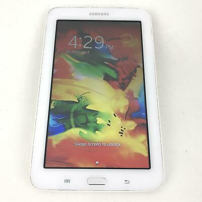 Samsung Galaxy Tab 3 Lite SM-T110 - 8 GB - Wi-Fi - 7 in - Android Tablet - White