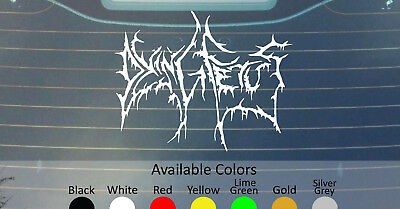 2 MISERY INDEX BAND DECALs Stickers Bogo For Car Truck Window Bumper Laptop