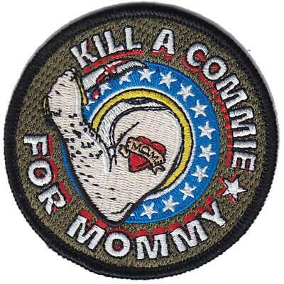 BuckUp Tactical Morale Patch Hook Kill A Commie For Mommy 3""
