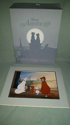 Walt Disney Exclusive Lithograph 1996 The Aristocats  11 X 14 Matted