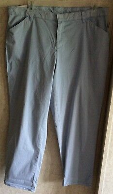 6a118cb769e Terra   Sky Womens Pants Chino Crop Boyfriend Ankle Generous Fit Plus Size  22W