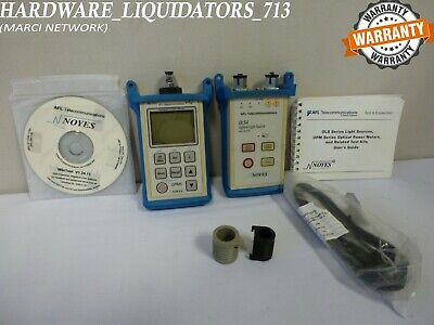 AFL Noyes SMLP5-5 OLS4 & OPM5 SM MM Fiber Optic Test Kit *(FAST SHIPPING)*