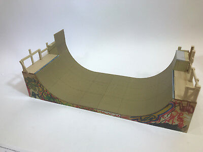 Skate Board Ramp >> Tech Deck Almost Cheese Crackers Mini Skateboard Ramp Board Set
