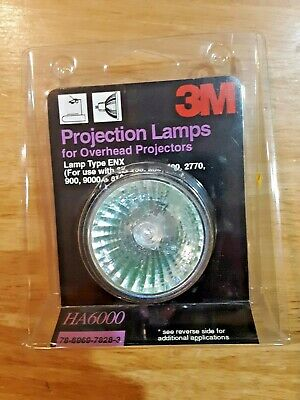 3M OVERHEAD PROJECTOR 9100 Twin Bulb Heat Resistant Glass Colorless