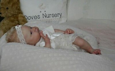 DOVES NURSERY ~Reborn Newborn Baby Girl ~ Atticus ~ Laura Lee Eagles Sold out LE