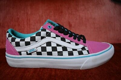 7753d479d5ad VANS OLD SKOOL PRO S GOLF WANG ODD FUTURE Blue Pink White VN000ZD4J7T Size  10.5