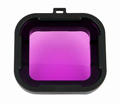 10x Dive Filter for GoPro Hero - Magenta - Wholesale Bulk Lot