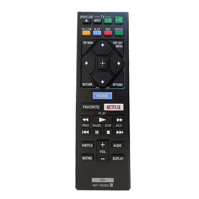 Replacement Remote Control For Sony Blu-ray DVD Player BDP-S1500 BDP-S350