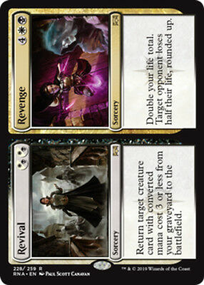 4x Revival // Revenge NM-Mint, English Ravnica Allegiance MTG Magic
