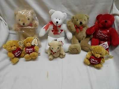 8 nos with tags valentines day teddy bears Be Mine Happy Valentines day Adorable
