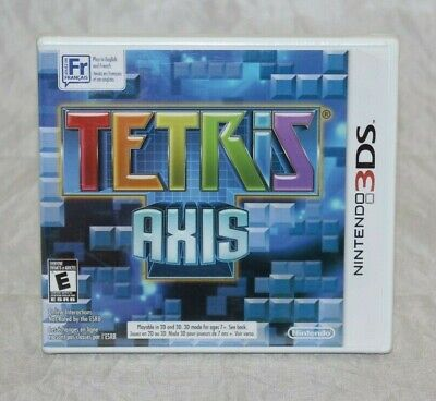 Tetris: Axis (Nintendo 3DS, 2011) Brand New Factory Seal