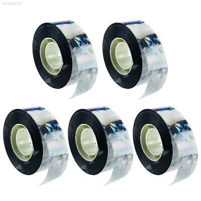 1A29 295ft Visual Audible Reflective Ribbon Holographic Flash Bird Scare Tape