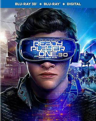 Ready Player One 3D ( 2D/3D Blu-ray/Digital ) with Slipcover 2018