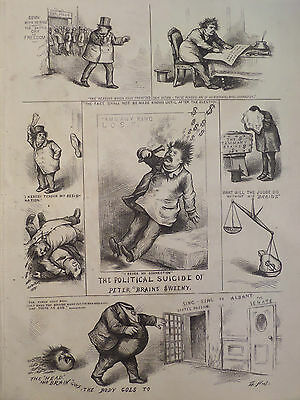 Political Suicide Of Peter B Sweeny Tammany Ring New York Harper's Weekly 1871