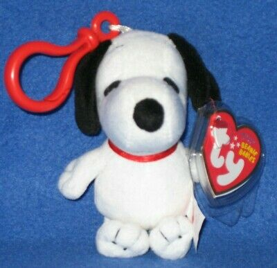 TY MR. KRABS the BEANIE BABY KEY CLIP - MINT with MINT TAGS (RARE ... 8df105a0f98b