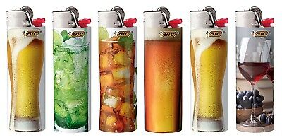 BIC Special Edition Cheers Series Lighters 2019 Set of 8 Lighters New Designs!