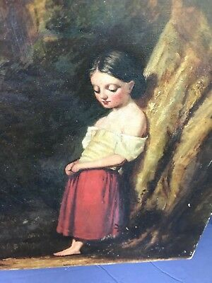 Antique Oil Painting Prepared by Windsor & Newton 38 Rathbone Place Circa 1800s