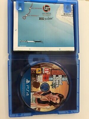 Grand Theft Auto 5 V GTA 5 PS4