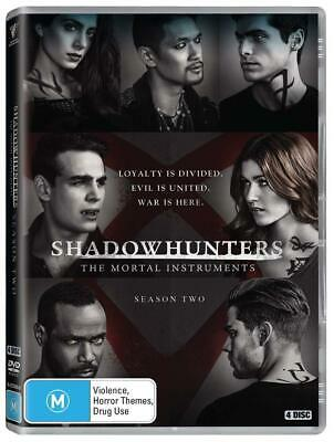 SHADOWHUNTERS 2 (2017): The Mortal Instruments TV Season Series - NEW Au Rg4 DVD