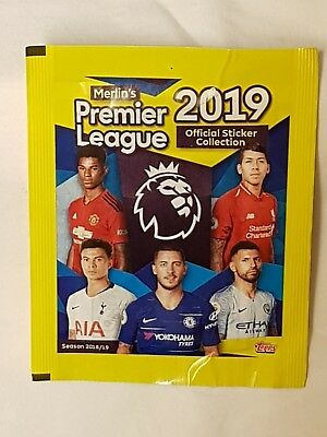 Merlin Topps Premier League 2019 Stickers - Select 25 Stickers From List