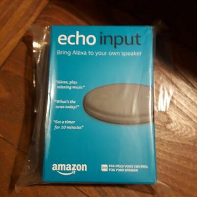 Alexa device echoinput brand new in pack