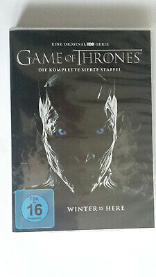 Game of Thrones Staffel 7  4 DVDs