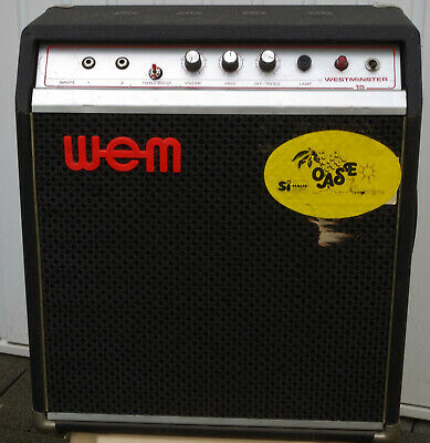 WEM WESTMINSTER 15 AMPLIFIER Gitarrenverstärker Watkins Electric Music