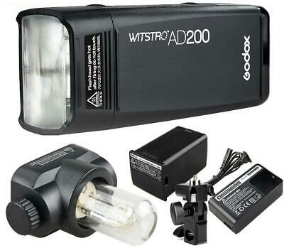 Godox AD200 TTL Flash 2.4G HSS 1/8000s Studio Flash Light Blitzgerät 704396